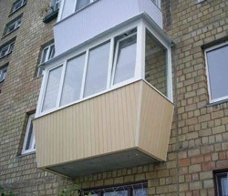 остекление балконов в Анапе