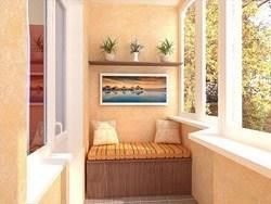Внутренняя отделка балконов и лоджий в Анапе
