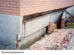 Восстановление фундамента г.Анапа